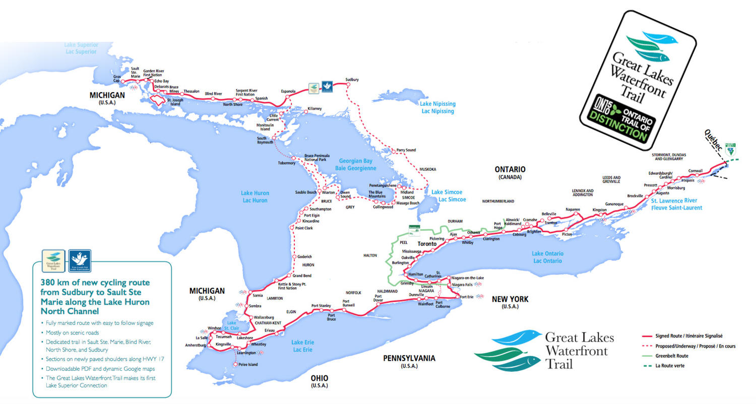 Cycling Northern Ontario On The Great Lakes Waterfront Trail